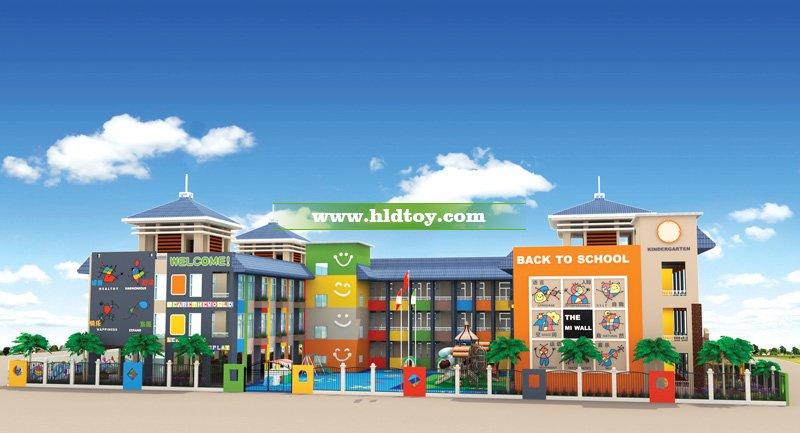 2018最新幼儿园整体设计装修施工方案