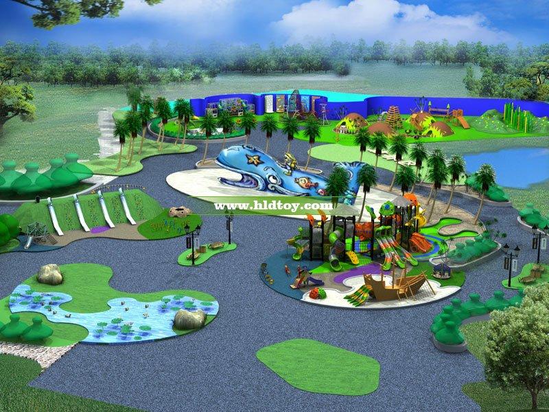 大白鲸儿童乐园整体公园配套