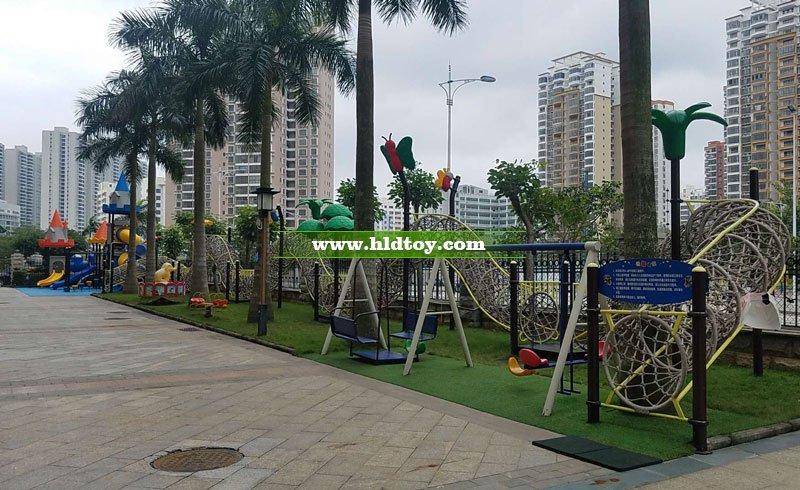 海南省机关幼儿园和风江岸分园户外整体设备