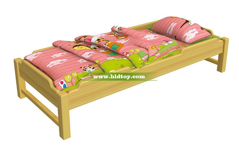 幼儿园床 木质儿童午休床工厂批发可定制