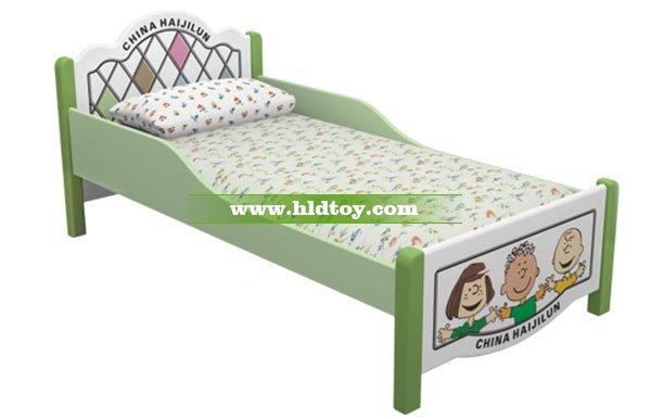 幼儿园耐用卡通宝宝床 高端儿童午休床